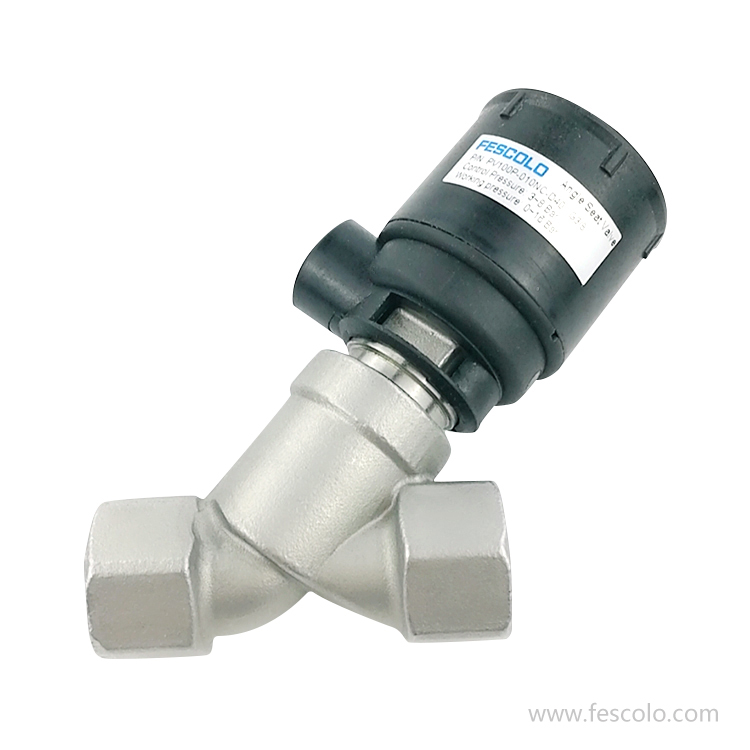Pneumatically Operated Angle Seat Valve Series PV32P(Asco type)