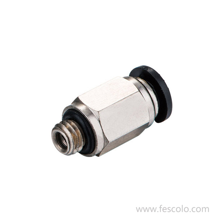 PC-C Male Straight Push in Fitting