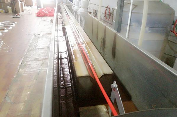 PU hose production