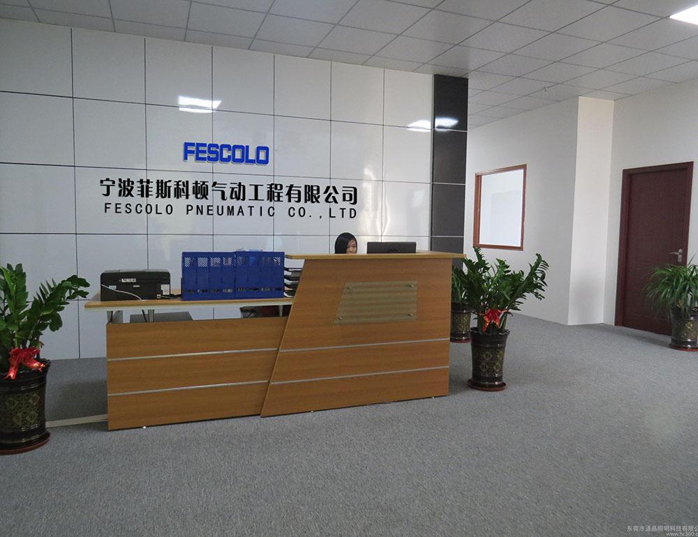 Fescolo pneumatic front desk
