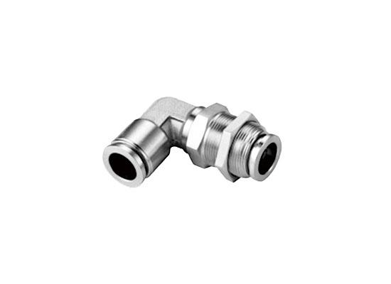 SPML Series Rotatable Bulkhead 90°Elbow