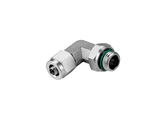 RPL-G-S Rapid Screw Rotatable 90° Elbow With O Ring