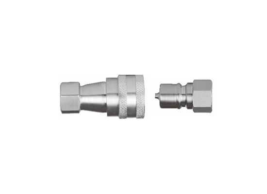 KZF Series close type pneumatic and hydraulic quick coupling