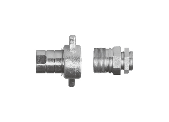 FK-L3 Series thread type hydraulic quick coupling