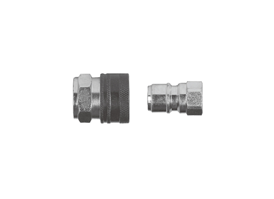 FK-K3 Series straight through hydraulic quick coupling