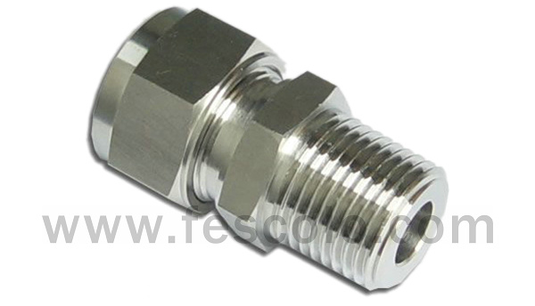 QPC-S Stainless Steel Male Straight Fitting