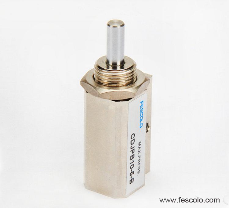 Double acting needle cylinder