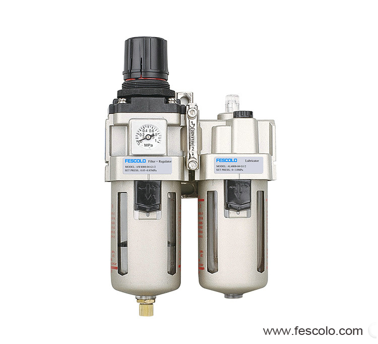 Filter regulator & lubricator