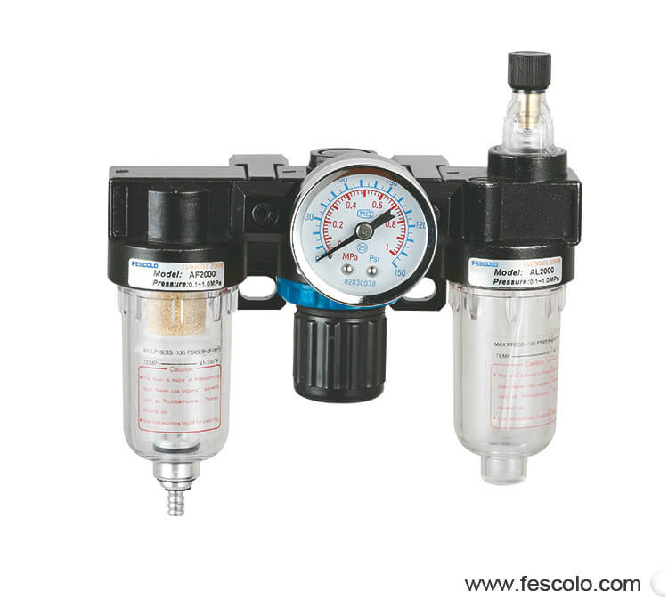 Air filter&regulator Lubricator