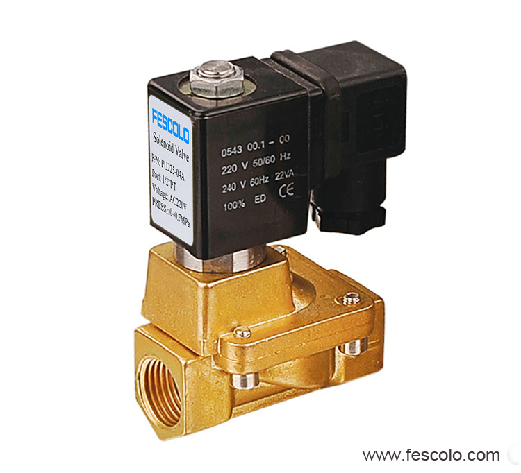 Pilot solenoid valve