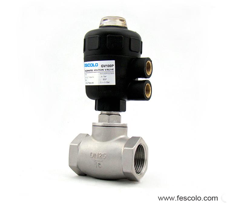 Actuator globe control valve