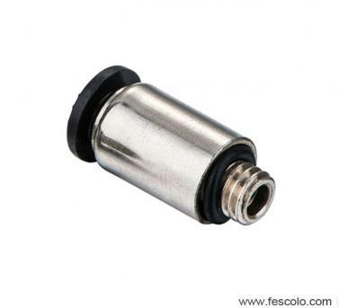 TPOC-C Compact Round Male Straight Fitting