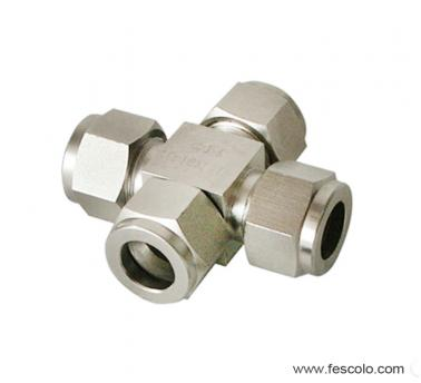QPZA-S Stainless Steel Cross Fitting