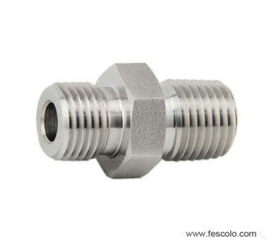 SS-032 Stainless Steel Double Nipple