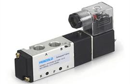Attention to the installation of solenoid valve